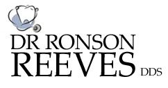 Ronson Reeves, Dental Surgeon